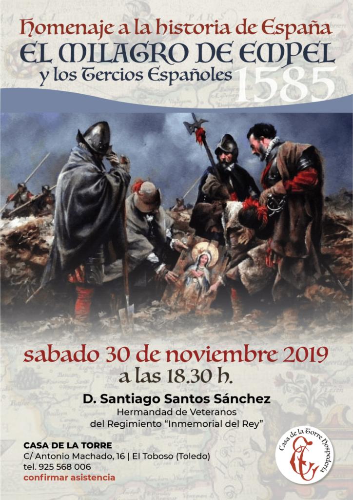 Conferencias sobre la Historia de Espana El milagro de Empel 30-noviembre-2019