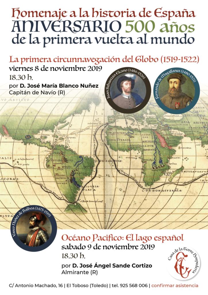 Conferencias sobre la Historia de Espana 8-9-noviembre-2019