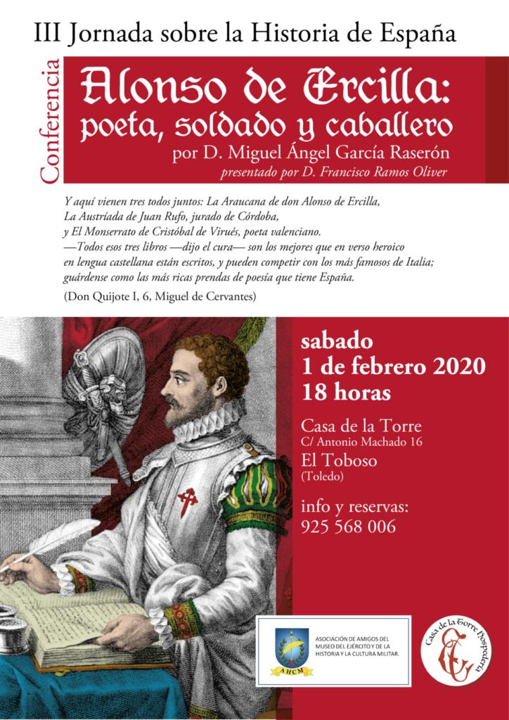 ALONSO DE ERCILLA Conferencia Historia de Espana Casa de la Torre