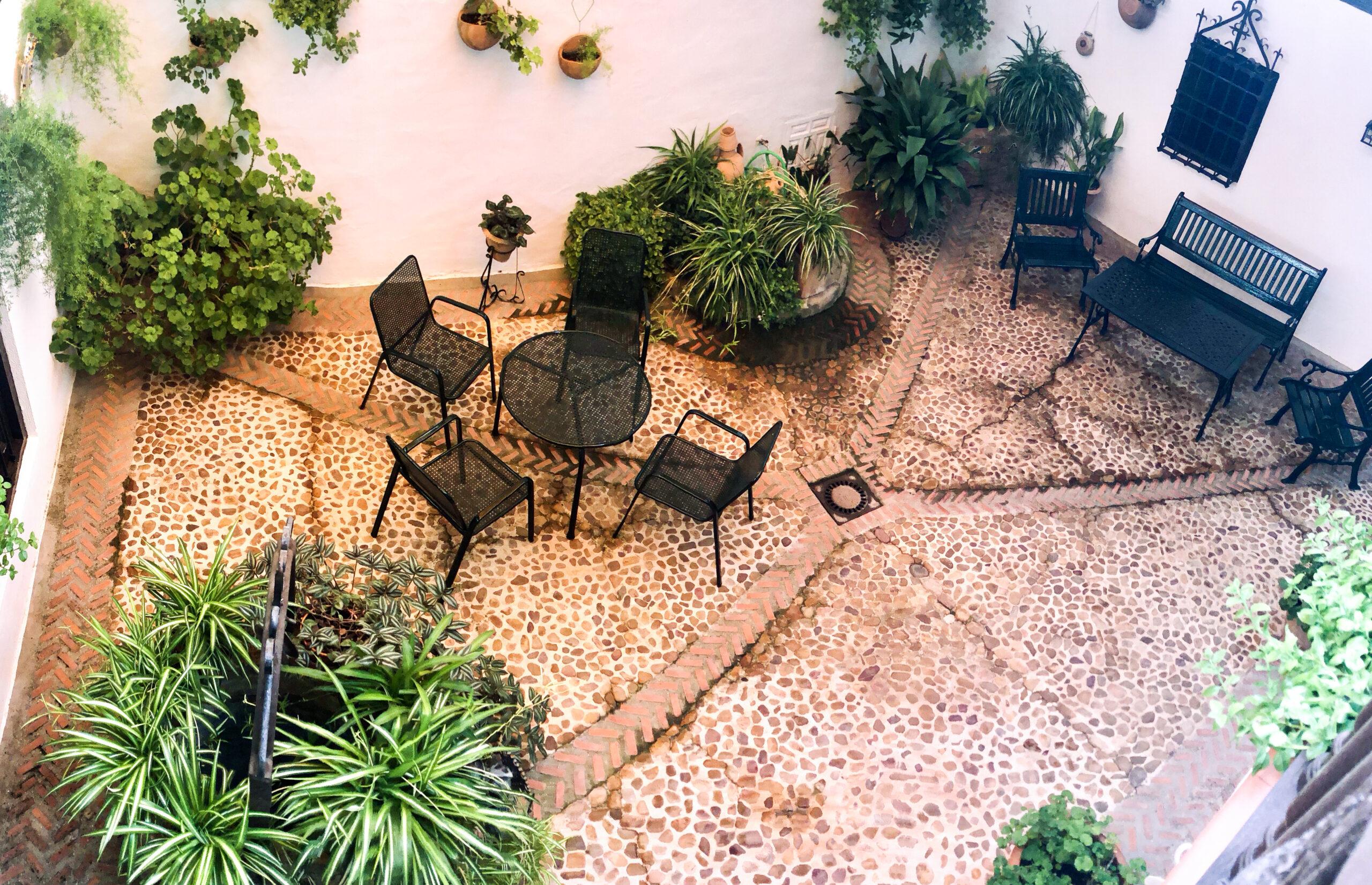 patio esterior Casa de la Torre