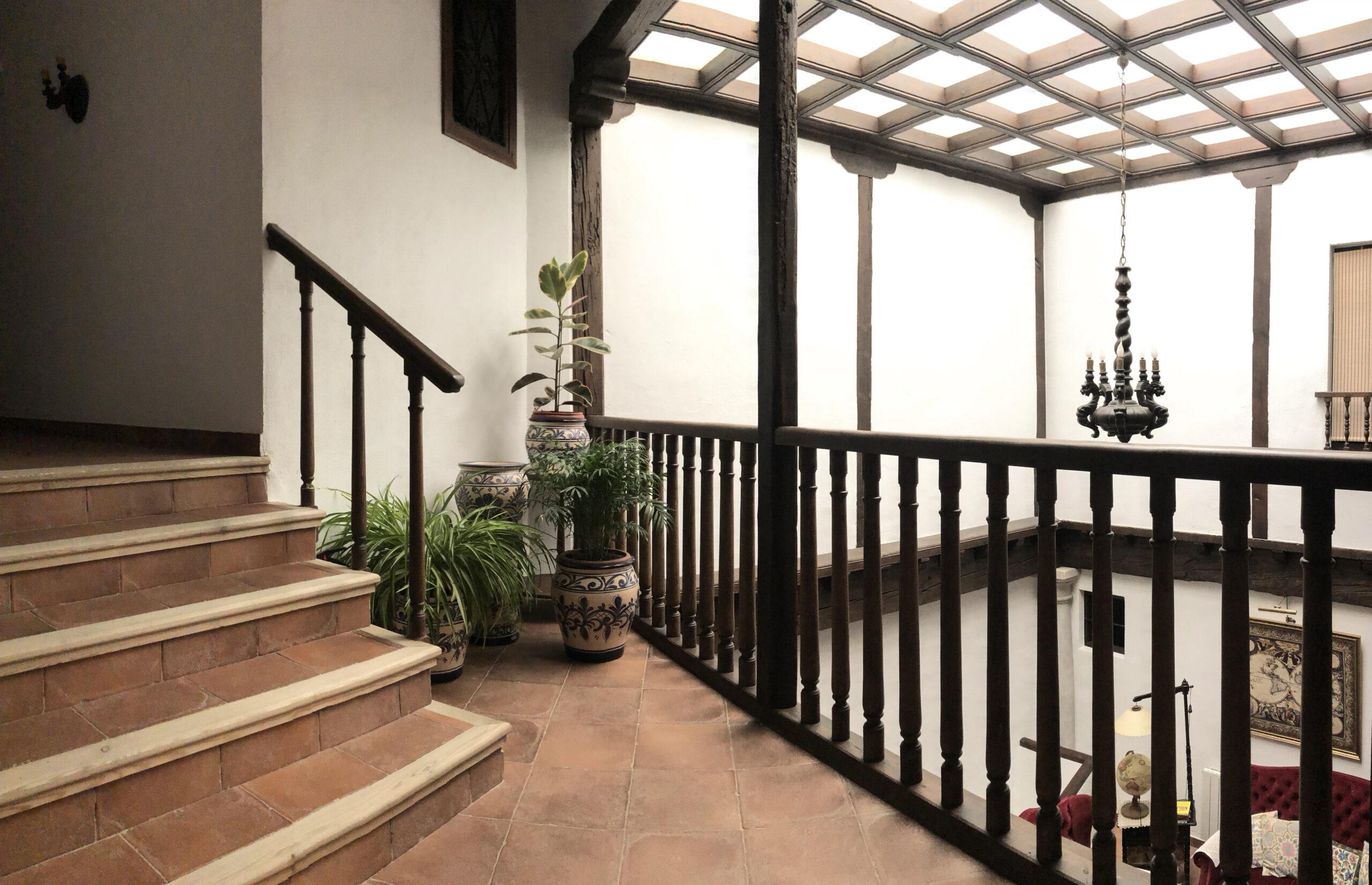 patio interior Casa de la Torre 03